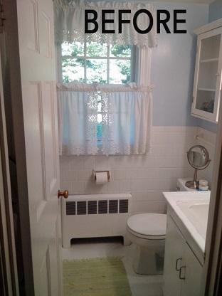 1950 S Bathroom Remodel Wayland Cottage Style N Sabella Inc